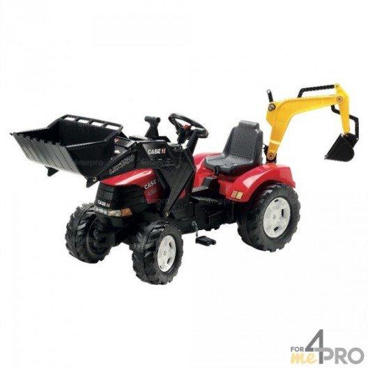 Tracteur Case IH Puma avec chargeur et excavatrice