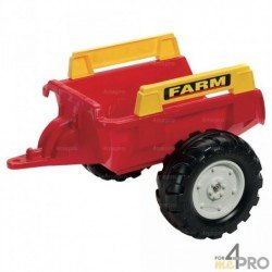 Remorque Farm rouge