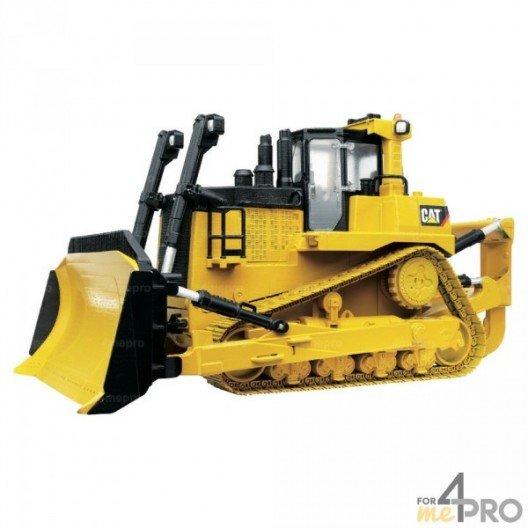 Bulldozer àchenilles Caterpillar - grand modèle