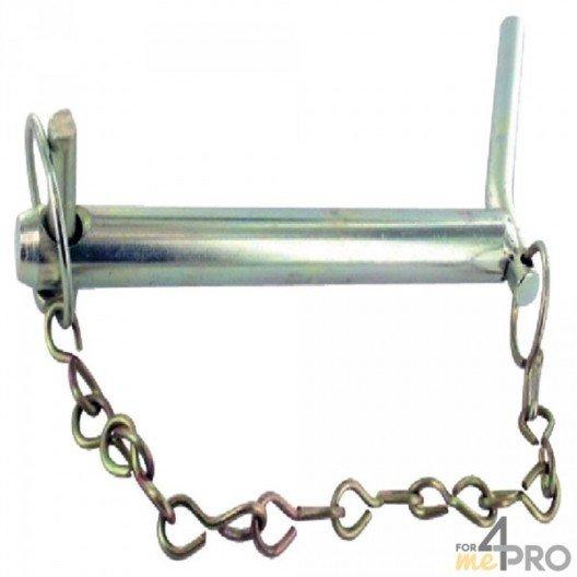 Axe d'attelage avec poignée et chaîne