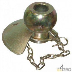 Rotule avec cône et goupille