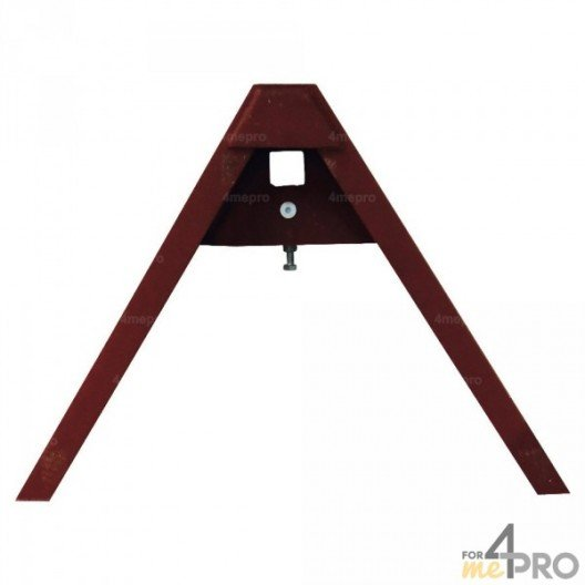 Triangle d'attelage coté machine