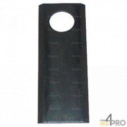 Couteau pour AGRAM - TAARUP - forme droite