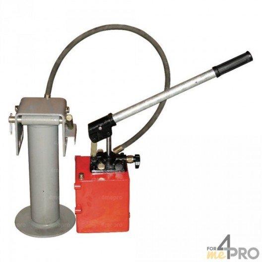 Kit béquille, pompe, flexible et levier
