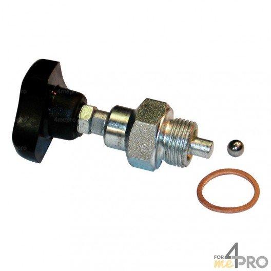Robinet pour pompe hydraulique