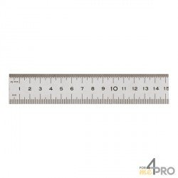 Réglet alu demi rigide 30 cm