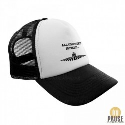 """Casquette """"All you need is field"""""""