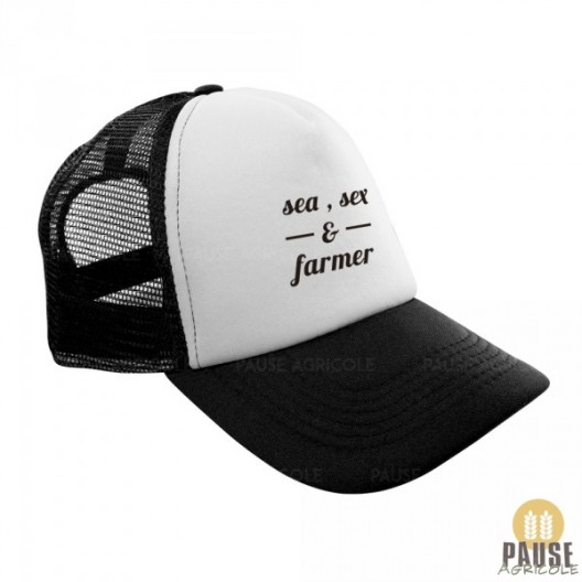 "Casquette ""Sea, sex and farmer"""