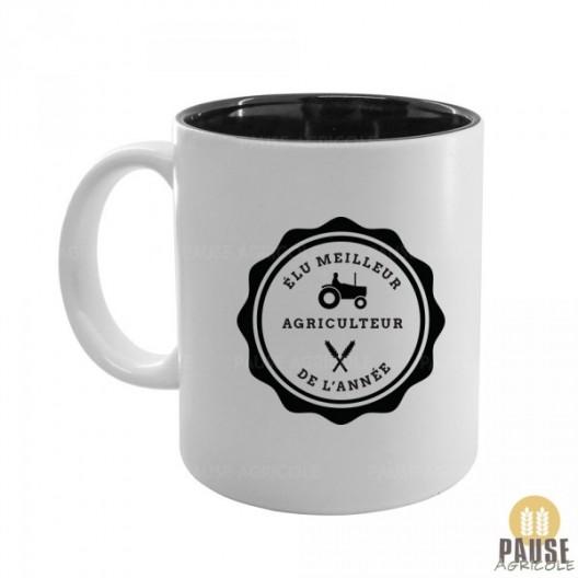 """Mug """"Meilleur agriculteur de l'année"""""""