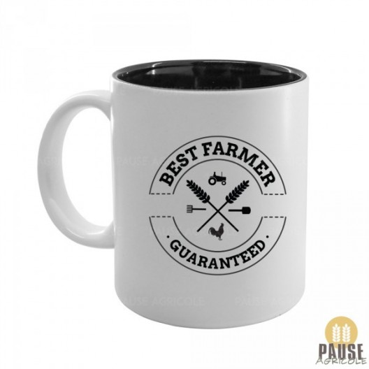 "Mug ""Best Farmer guaranteed"""