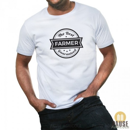 "T-shirt ""The best farmer guaranteed"""