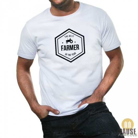 "T-shirt ""The best farmer of the year"" 1"