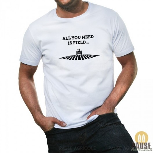 "T-shirt ""All you need is field"""