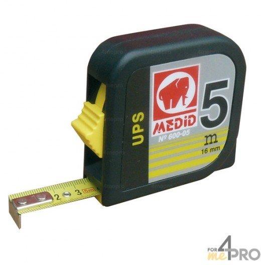 Mètre boitier ABS carré 5m pour gaucher