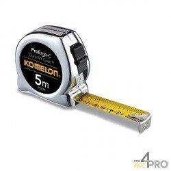 Mètre chromé pro 5m x 19mm
