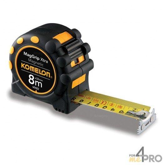 Mètre magnétique pro 8m x 32mm