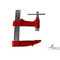 Serre joint à pompe 1 m - saillie 140 mm