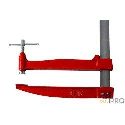 Serre joint à pompe 60 cm - saillie 350 mm