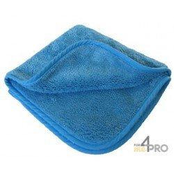 Micro-Fibre de lustrage ''POLISH'' 40 x 40 cm bleu