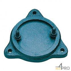 Etau de perçage professionnel MT5 à base tournante série industrie 120 mm