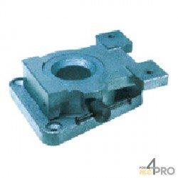 Base tournante pour étau d'établi pneumatique 120 mm