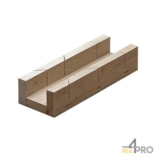 Boîte à onglet de menuisier 5x25x3,8 cm