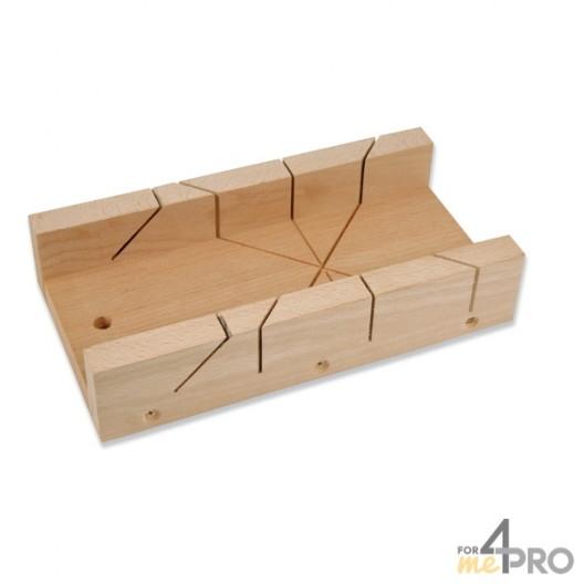 Boîte à onglet de menuisier 12x35x6 cm