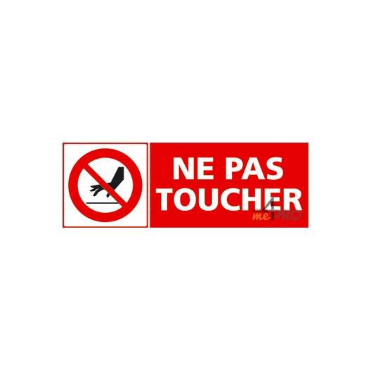 Panneau ne pas toucher 1