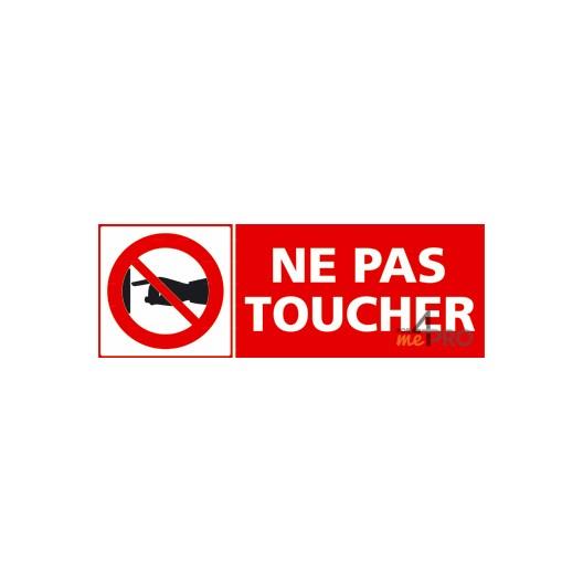 Panneau ne pas toucher 2