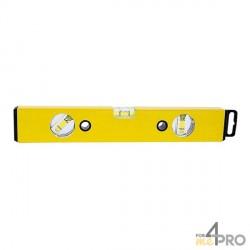 Niveau profil alu jaune 60 cm