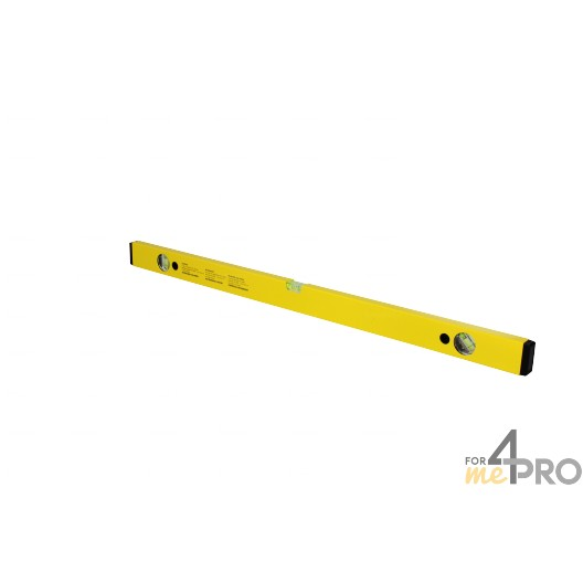 Niveau profil alu jaune 80 cm