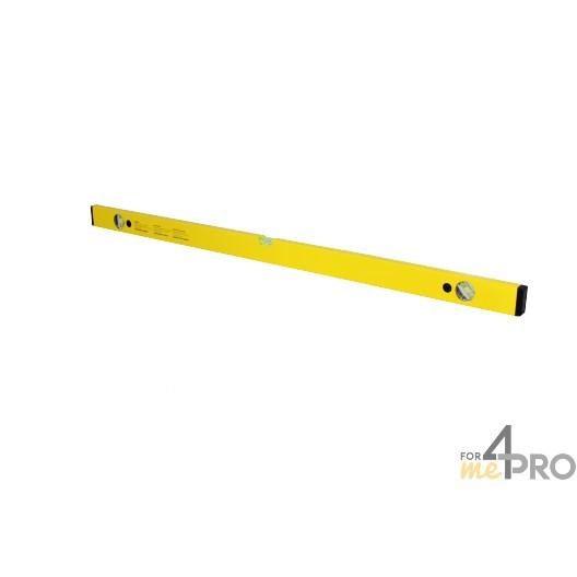 Niveau profil alu jaune 1 m