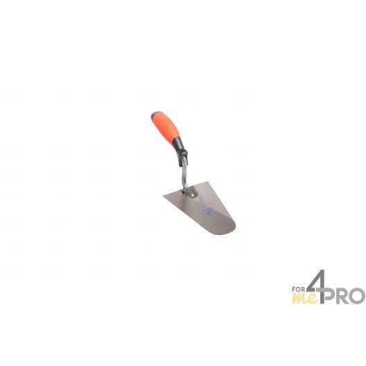 Truelle italienne professionnelle - manche bimatière 29 cm