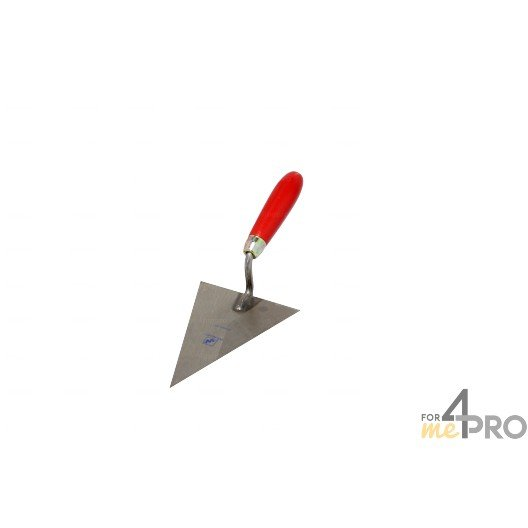 Truelle triangulaire pointue professionnelle 26,5 cm