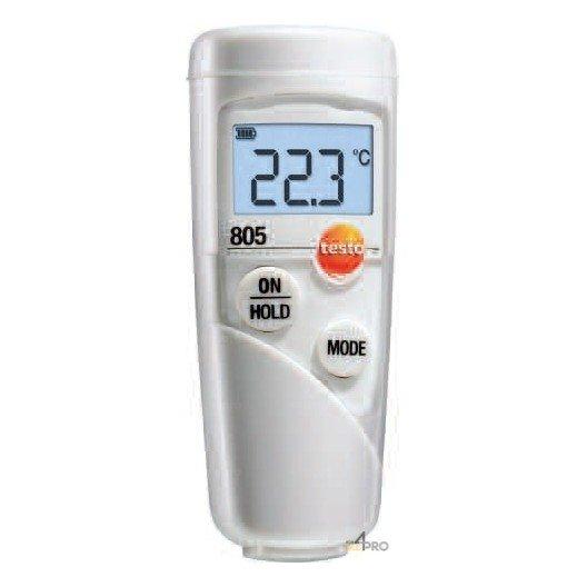 Set thermomètre infrarouge Testo 805
