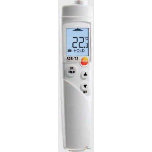 Thermomètre Testo 826-T2 avec TopSafe