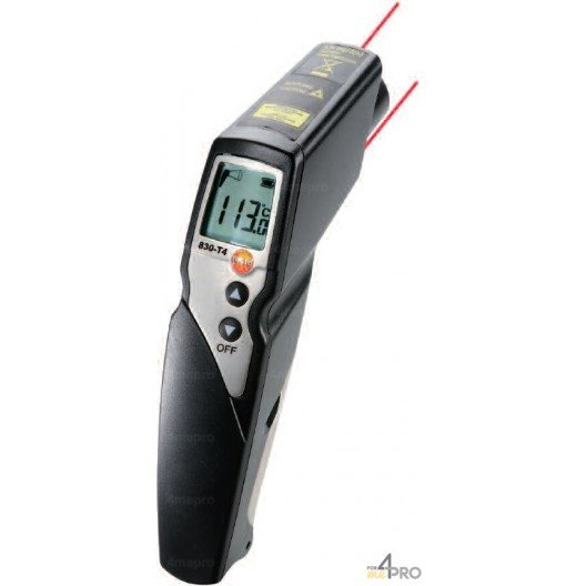 Set thermomètre Testo 830-T4
