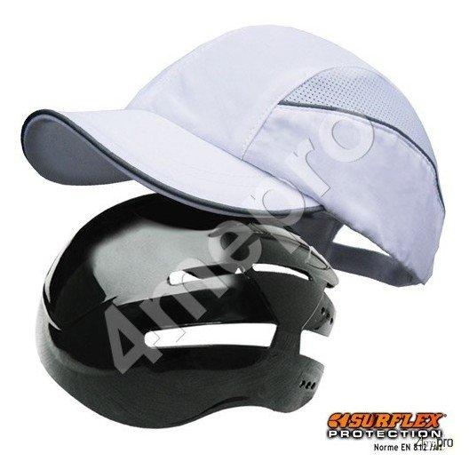 Casquette de protection Toutes saisons blanc NF EN812 A1