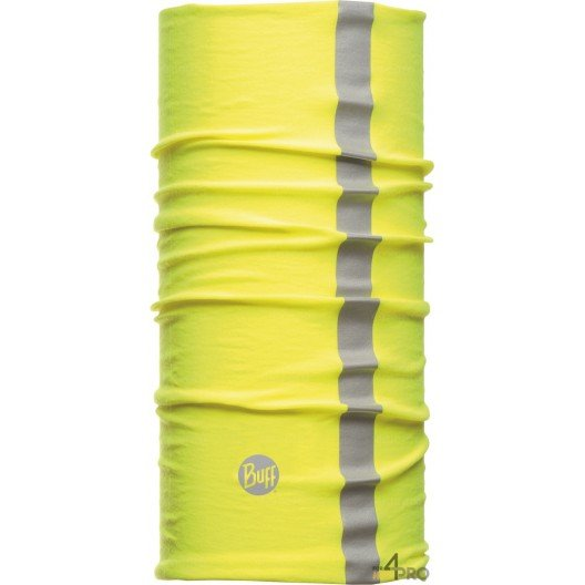 Bandeau multifonction réfléchissant protection chaleur et froid Buff Thermal jaune