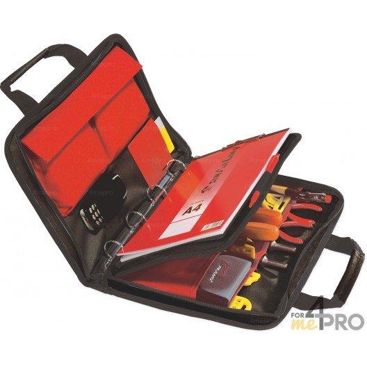 Sacoche porte outils + rangement classeur