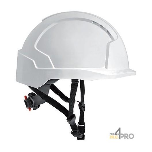 Casque de sécurité blanc pour travaux en hauteur - EN 397