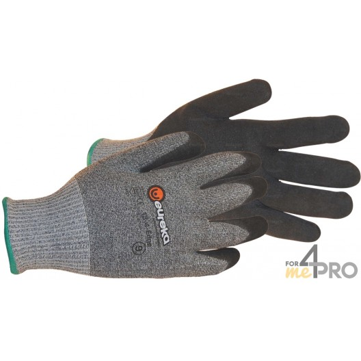 Gant anti-coupure Nitrile pour milieu gras et huileux - Norme EN388 - 4542 CE CAT 2