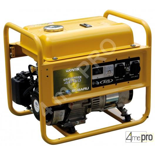 Groupe électrogène à essence monophasé Challenger 4000 AVR - 3,2 kW