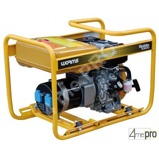 Groupe électrogène diesel monophasé Master 4010 DXL 15 - 2,60 kW