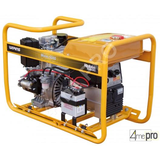 Groupe autonome de soudage diesel Mixte 5000 DXL 15