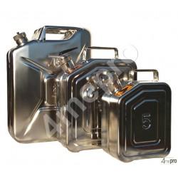 Jerrican inox 20 L avec valve de surpression