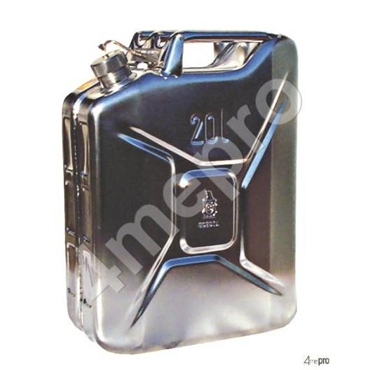 Jerrican inox ADR 10 L pour transport routier