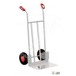 Diable alu usage industriel 200 kg roues pleines