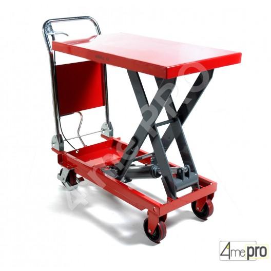 Table élévatrice manuelle acier 300 kg