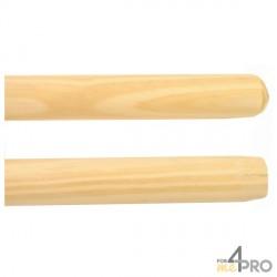 Manche en bois 140 cm pour balais
